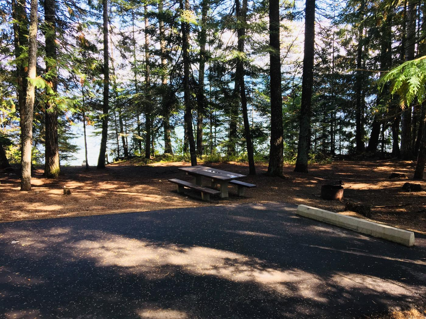 Outlet Campground Site 13