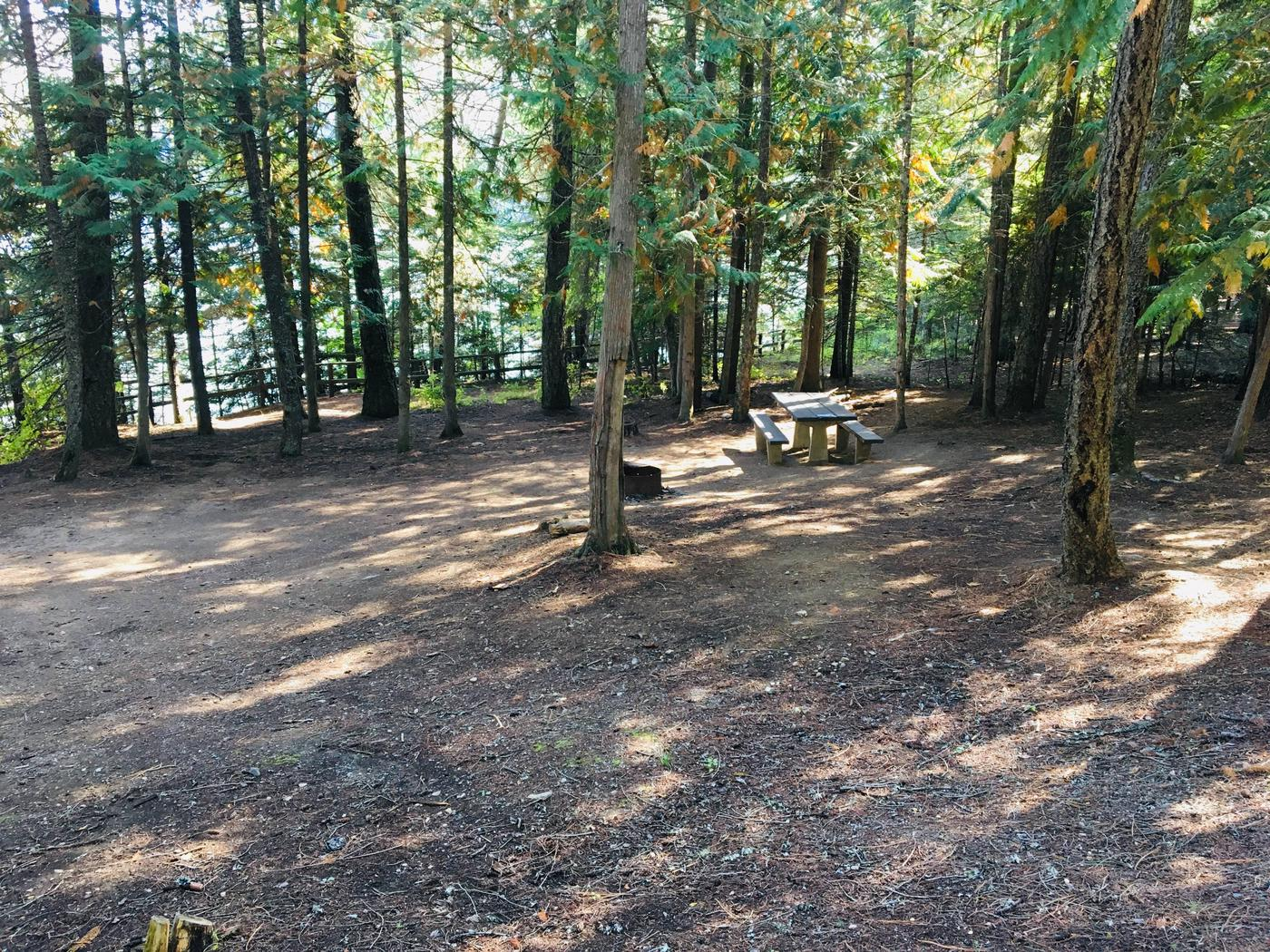 Outlet Campground Site 14