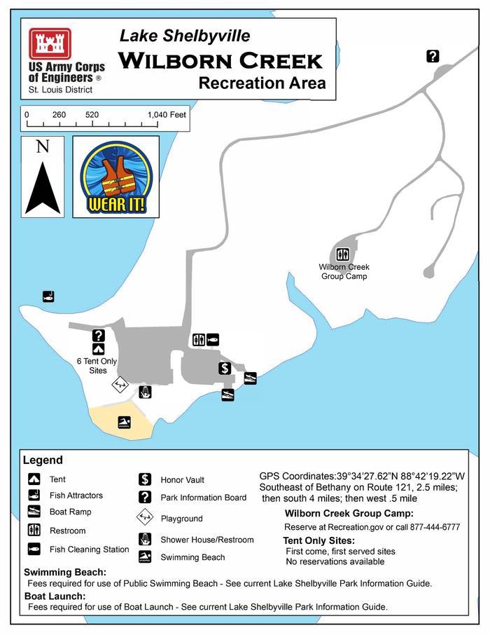 Wilborn Creek Map