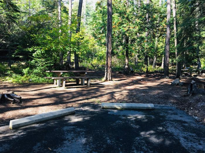 Outlet Campground Site 20