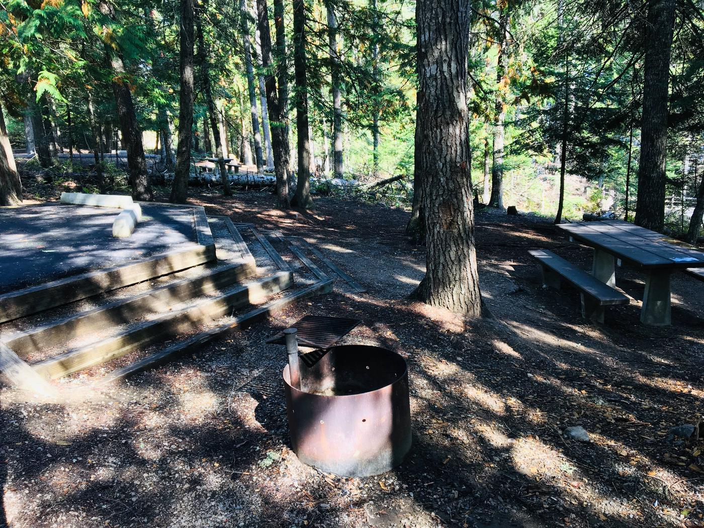 Outlet Campground Site 21