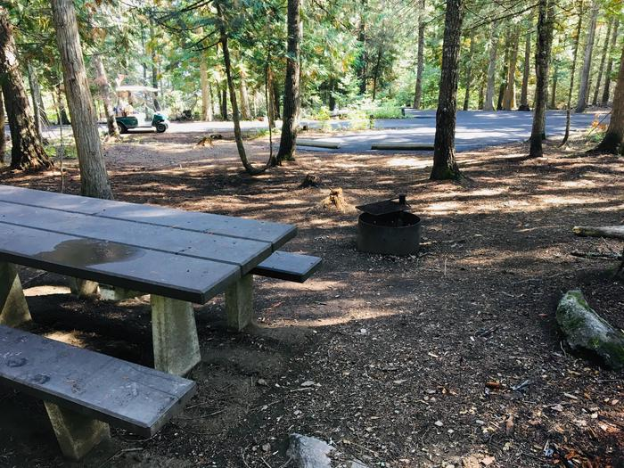 Outlet Campground Site 22