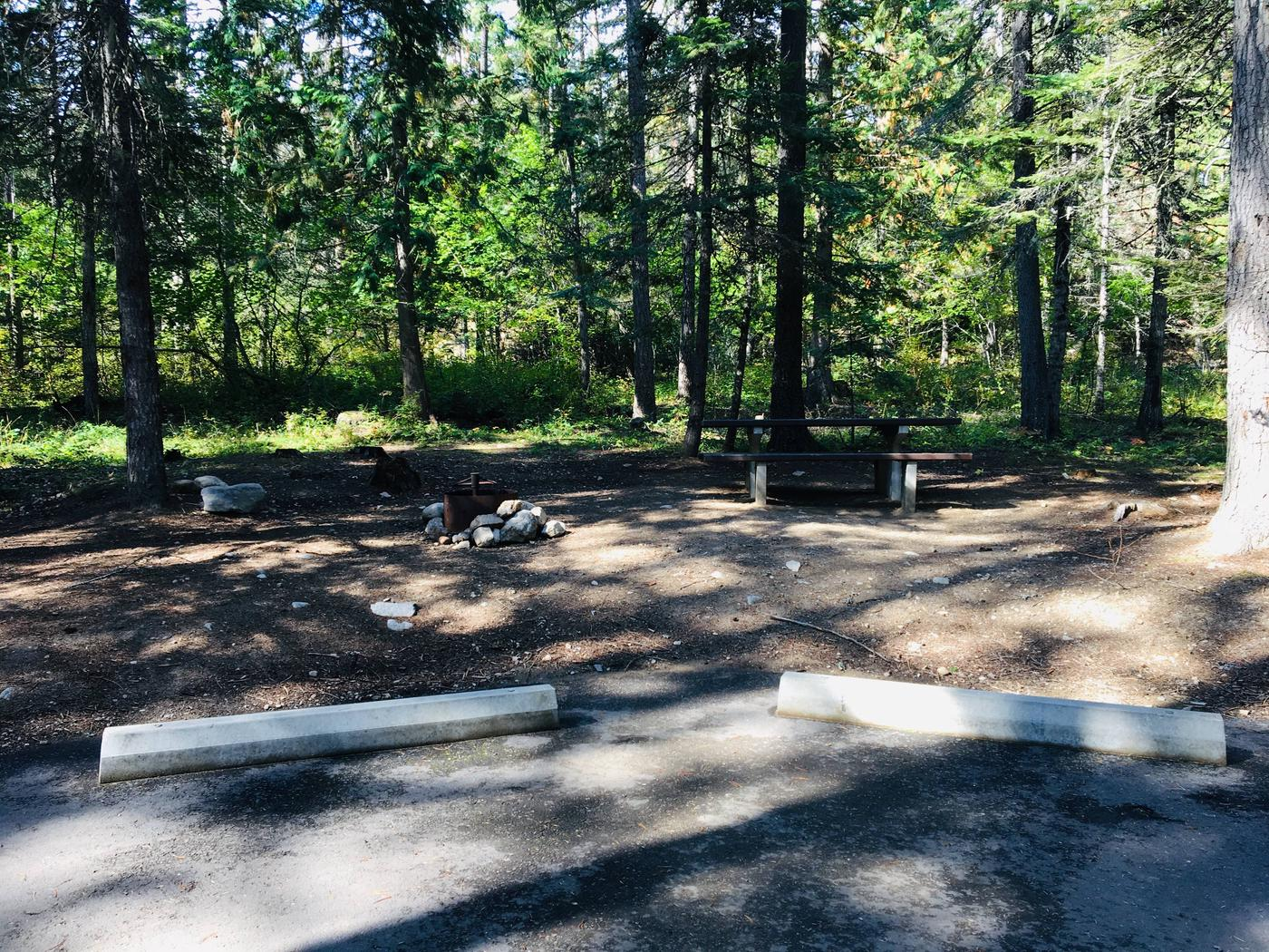 Outlet Campground Site 23