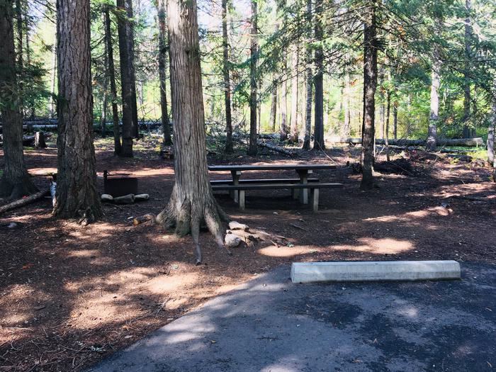 Outlet Campground Site 24