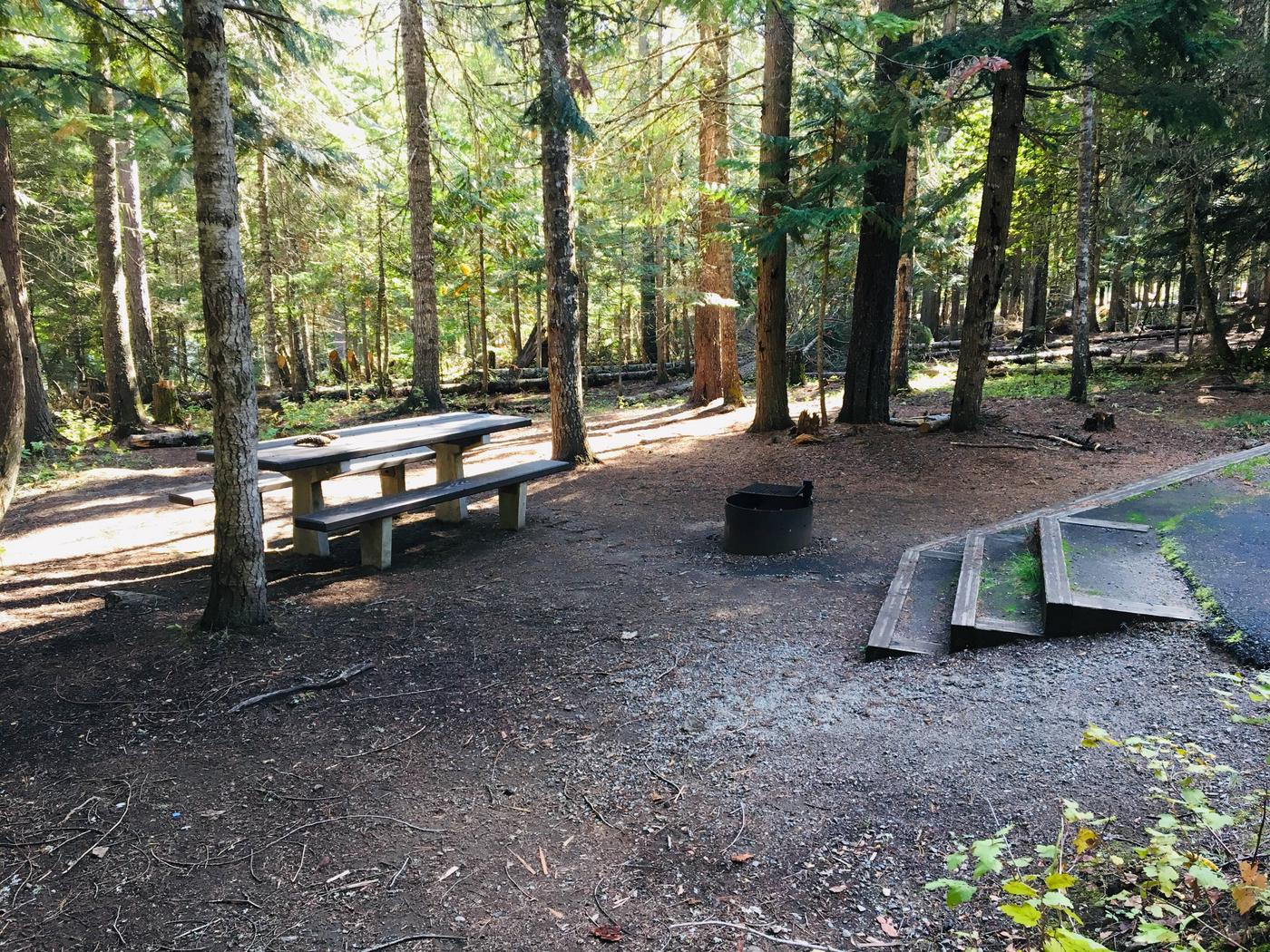 Outlet Campground Site 25