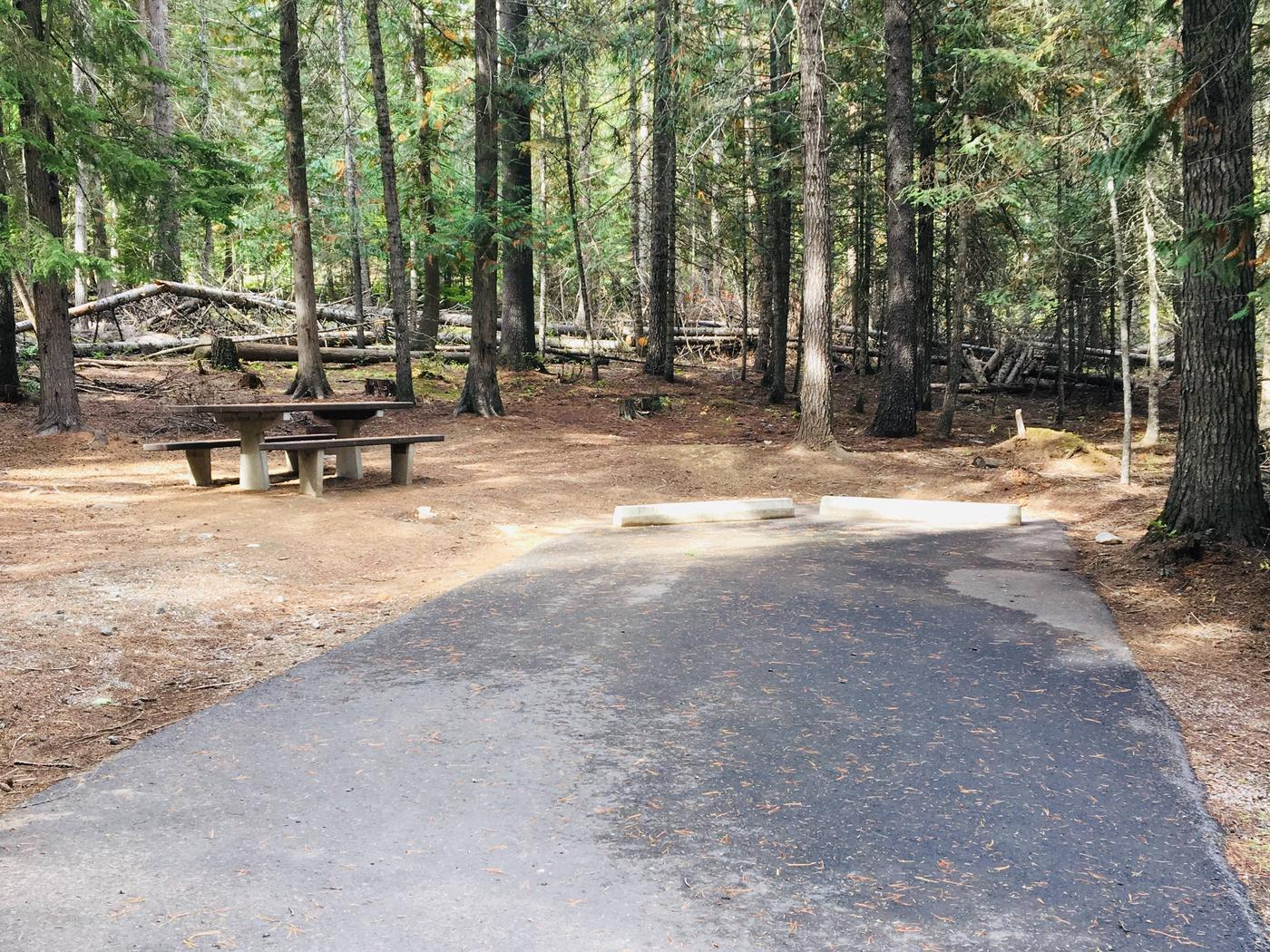 Outlet Campground Site 27