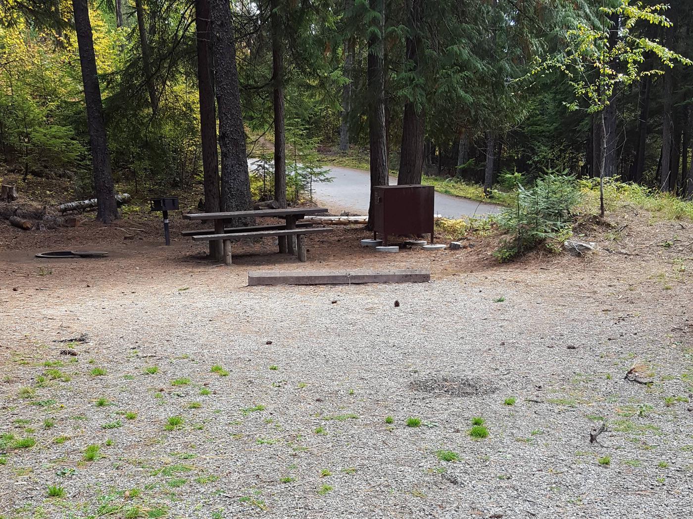 Reeder Bay Campground Site 1