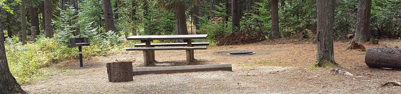 Reeder Bay Campground Site 2