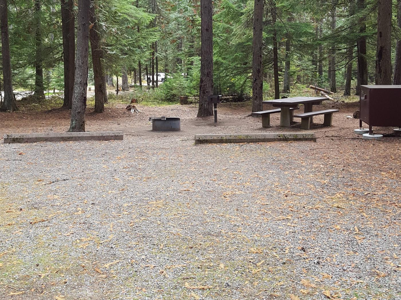 Reeder Bay Campground Site 4