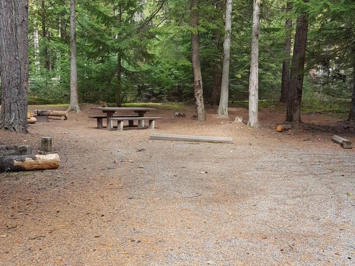 Reeder Bay Campground Site 5