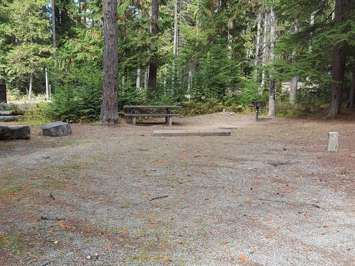 Reeder Bay Campground Site 6
