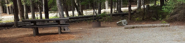 Reeder Bay Campground Site 7