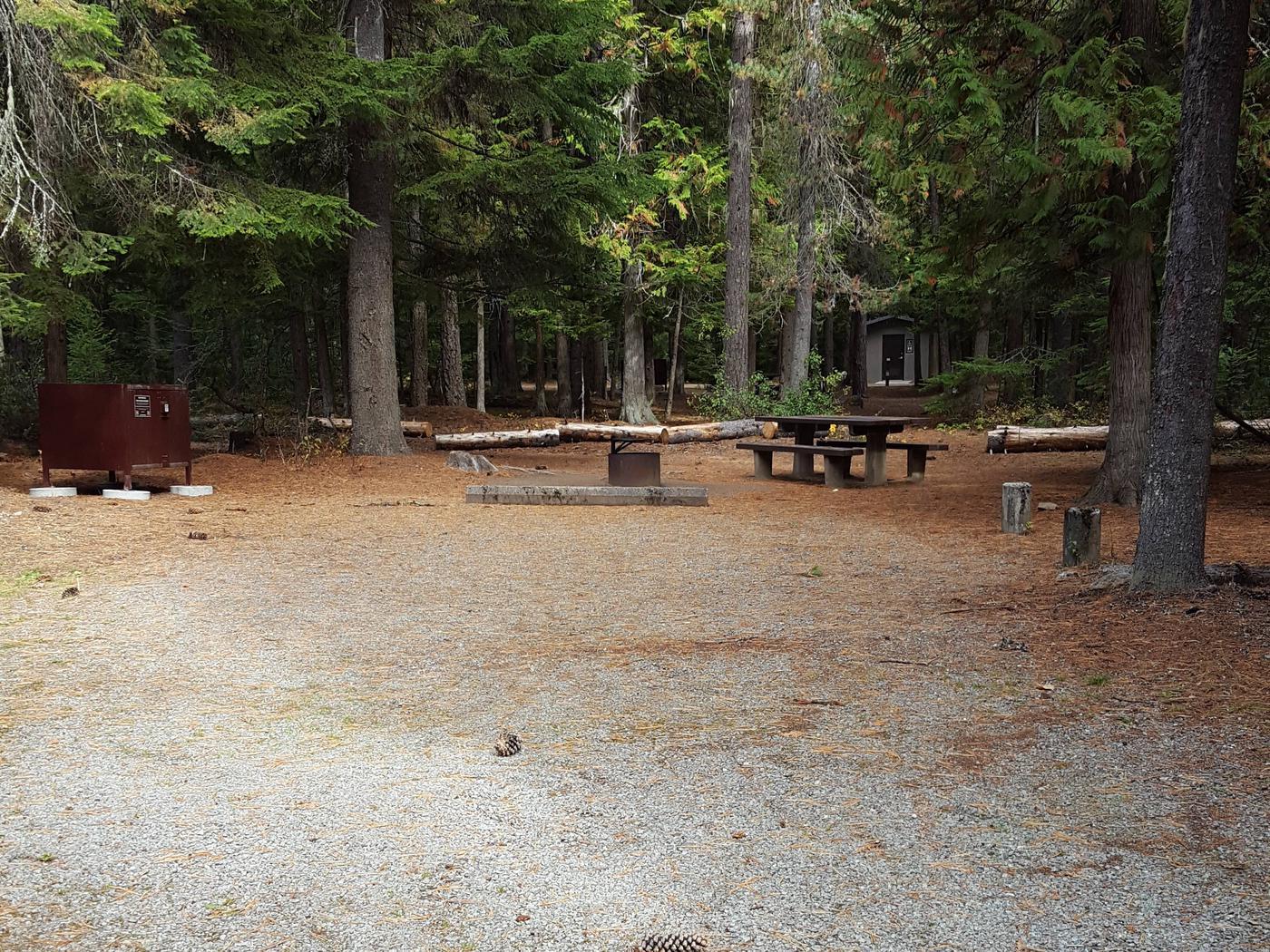 Reeder Bay Campground Site 8