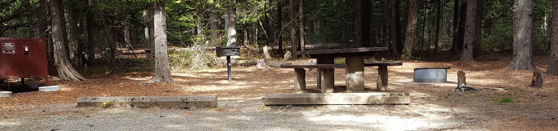 Reeder Bay Campground Site 10