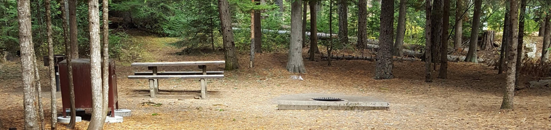Reeder Bay Campground Site 12
