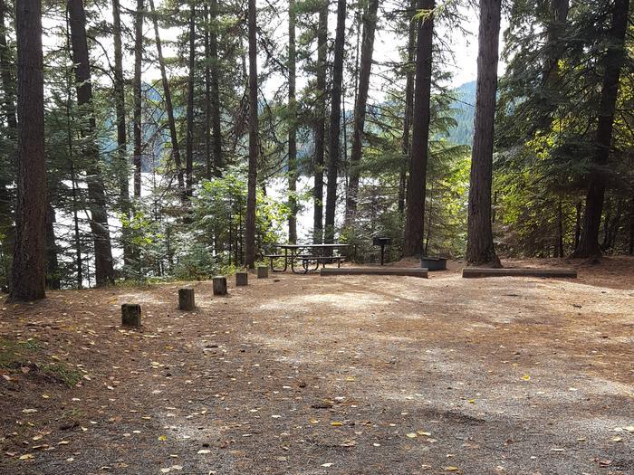 Reeder Bay Campground Site 14