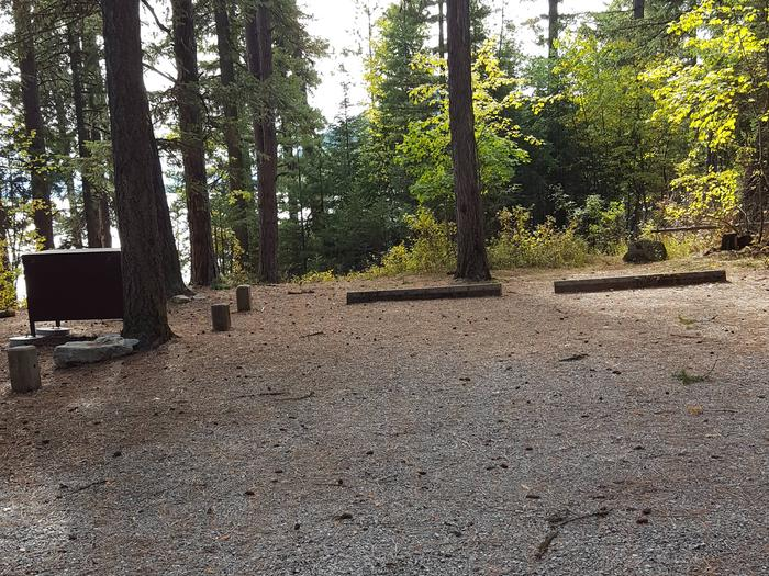 Reeder Bay Campground Site 18