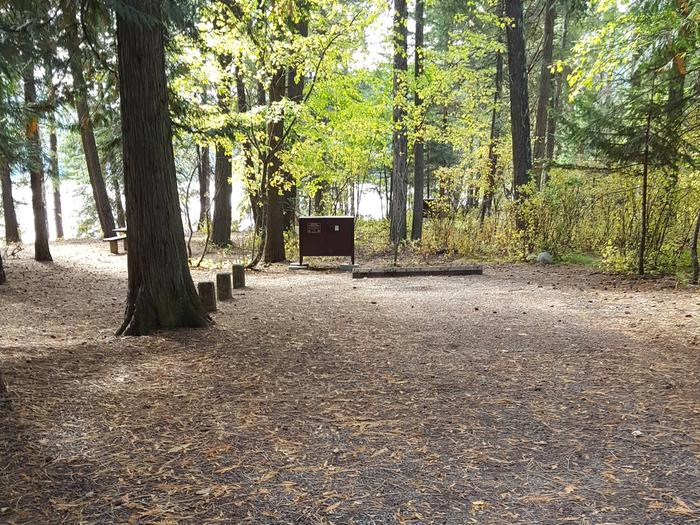 Reeder Bay Campground Site 21