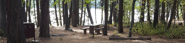 Reeder Bay Campground Site 22