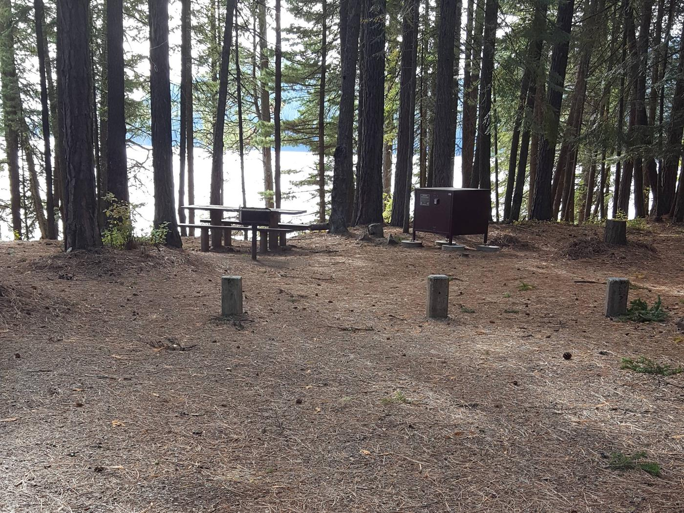 Reeder Bay Campground Site 23