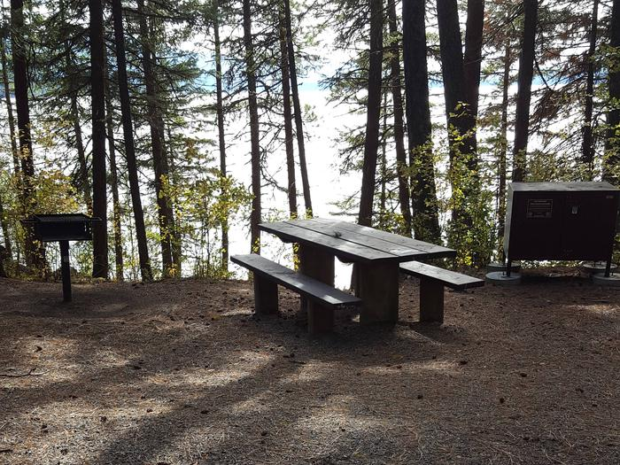 Reeder Bay Campground Site 24