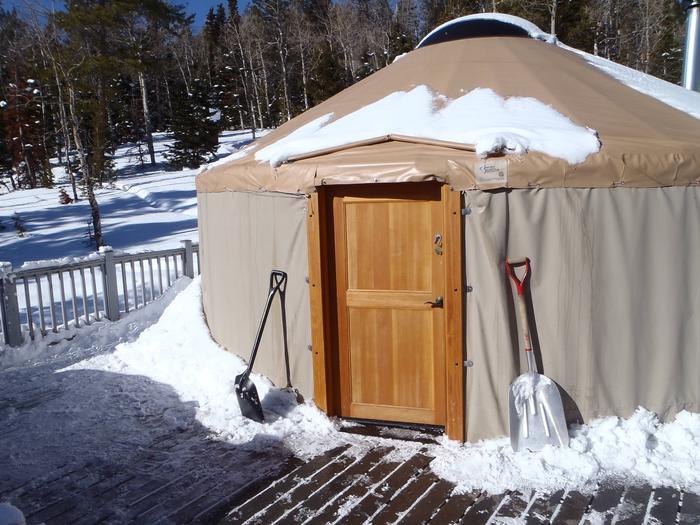Grizzly Ridge New Front Door