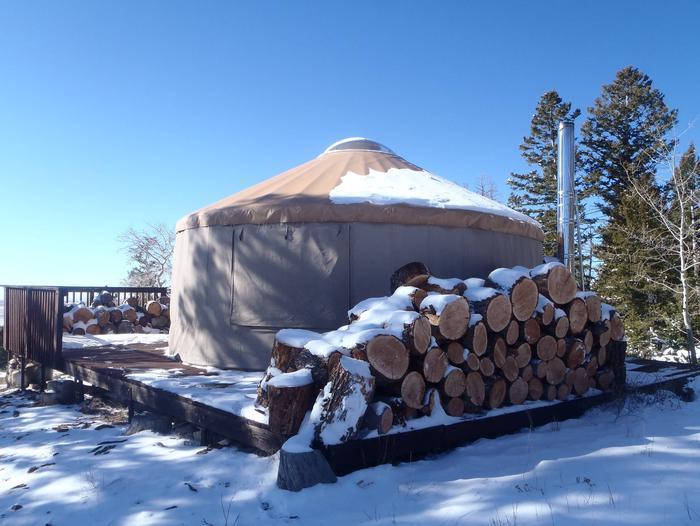 Limber Flag Yurt