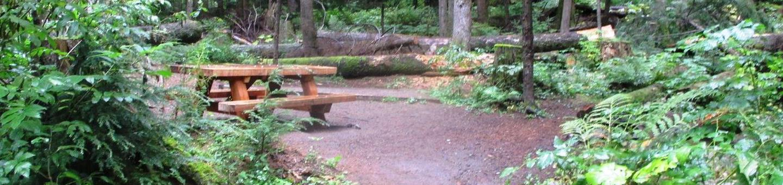 Denny Creek Campground Site 2Site 2
