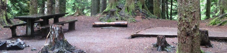 Denny Creek Campground Site 6Site 6
