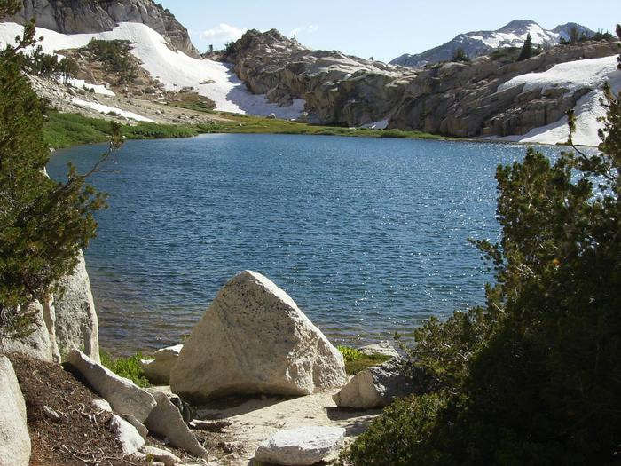 View of Ice Lake in the Hoover Wilderness