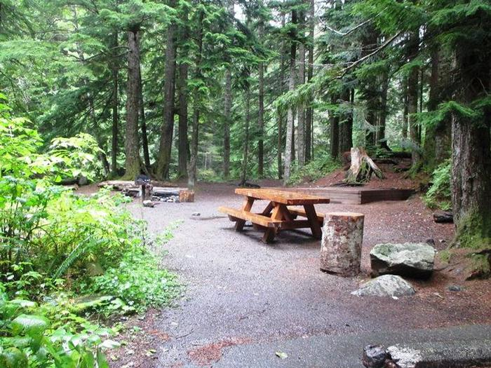 Denny Creek Campground Site 8Site 8
