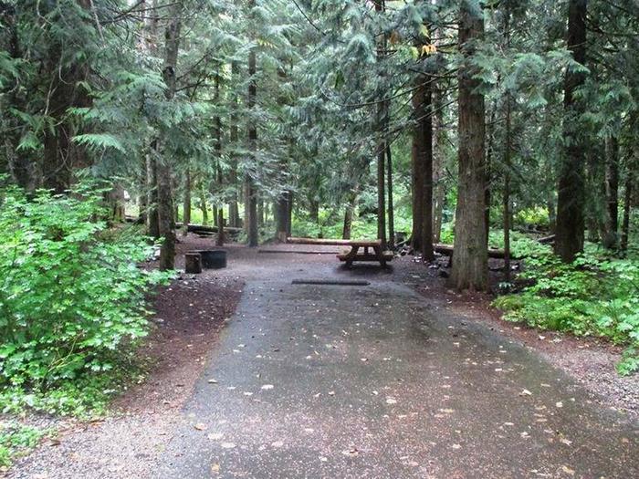 Denny Creek Campground Site 18Site 18