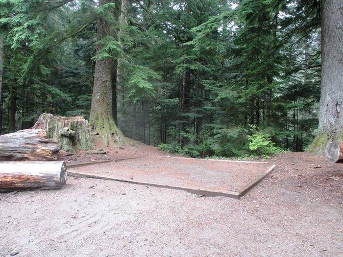 Denny Creek Campground Group Tent AreaTent Pad
