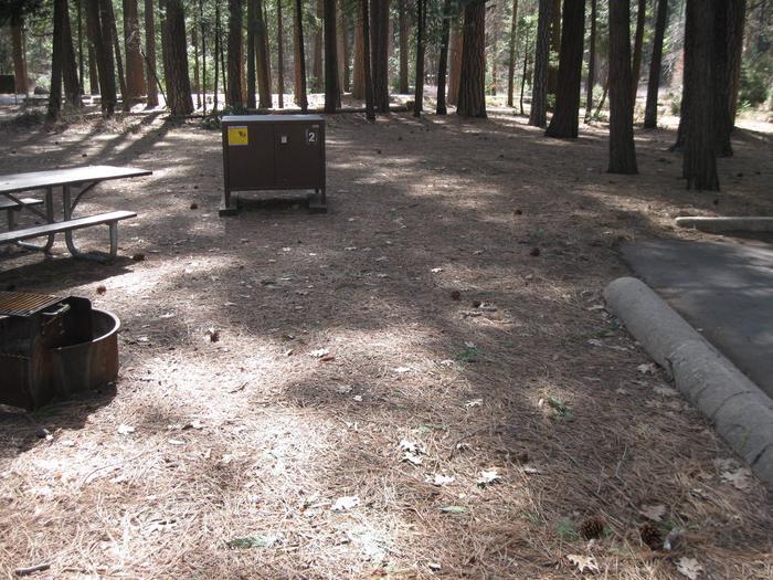 Site 2.Campsite 2.