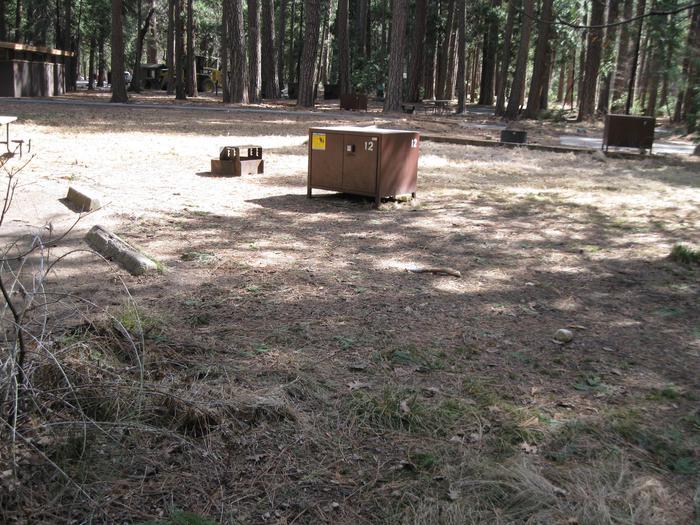 Site 12.Campsite 12.