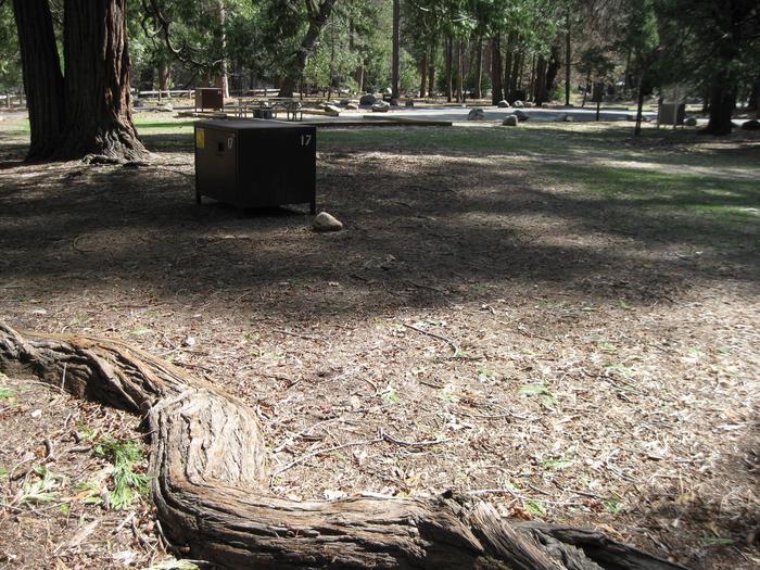 Site 17.Campsite 17.