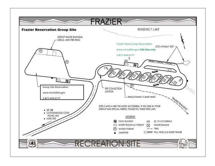 Frazier Group Campground  Site Map _6Frazier Group Site & Frazier Horse Campground