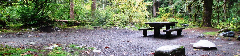 Verlot Campground Site 1