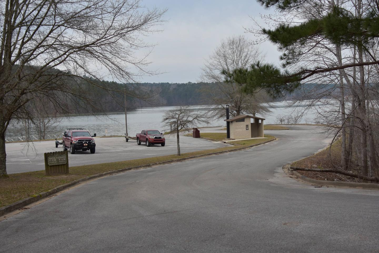 Arriving at the Clear Creek Public Boat RampArriving at the Clear Creek Public Boat Ramp March 1st, 2020