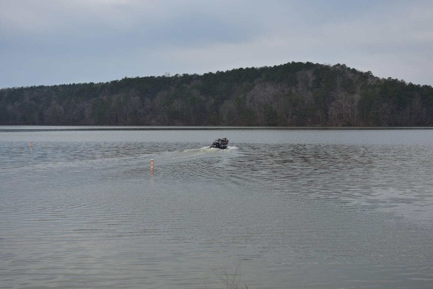 Clear Creek Public Boat Ramp - A man with his 2 best friends, his dog and his fishing boat, gone fishingClear Creek Public Boat Ramp - A man with his 2 best friends, his dog and his fishing boat, gone fishing March 1st, 2020