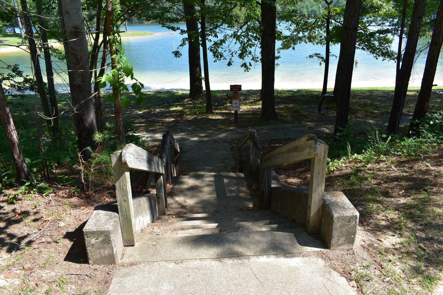 Clear Creek Day Use Area Beach StairsClear Creek Day Use Area Beach Stairs July 10th, 2019