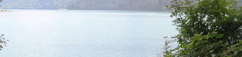 Panorama PointBaker Lake
