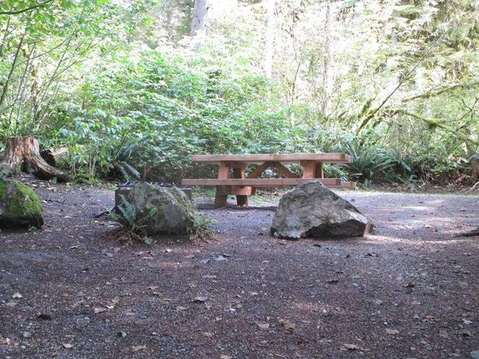 Shannon Creek CampgroundSite 6