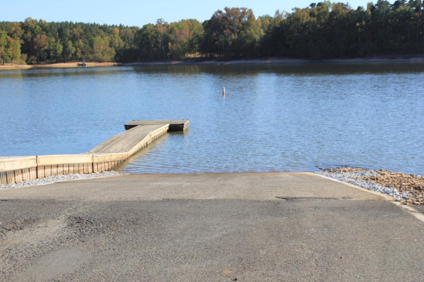 Buffalo Park Boat RampWelcome to Buffalo Park! This is the boat ramp here at the park.