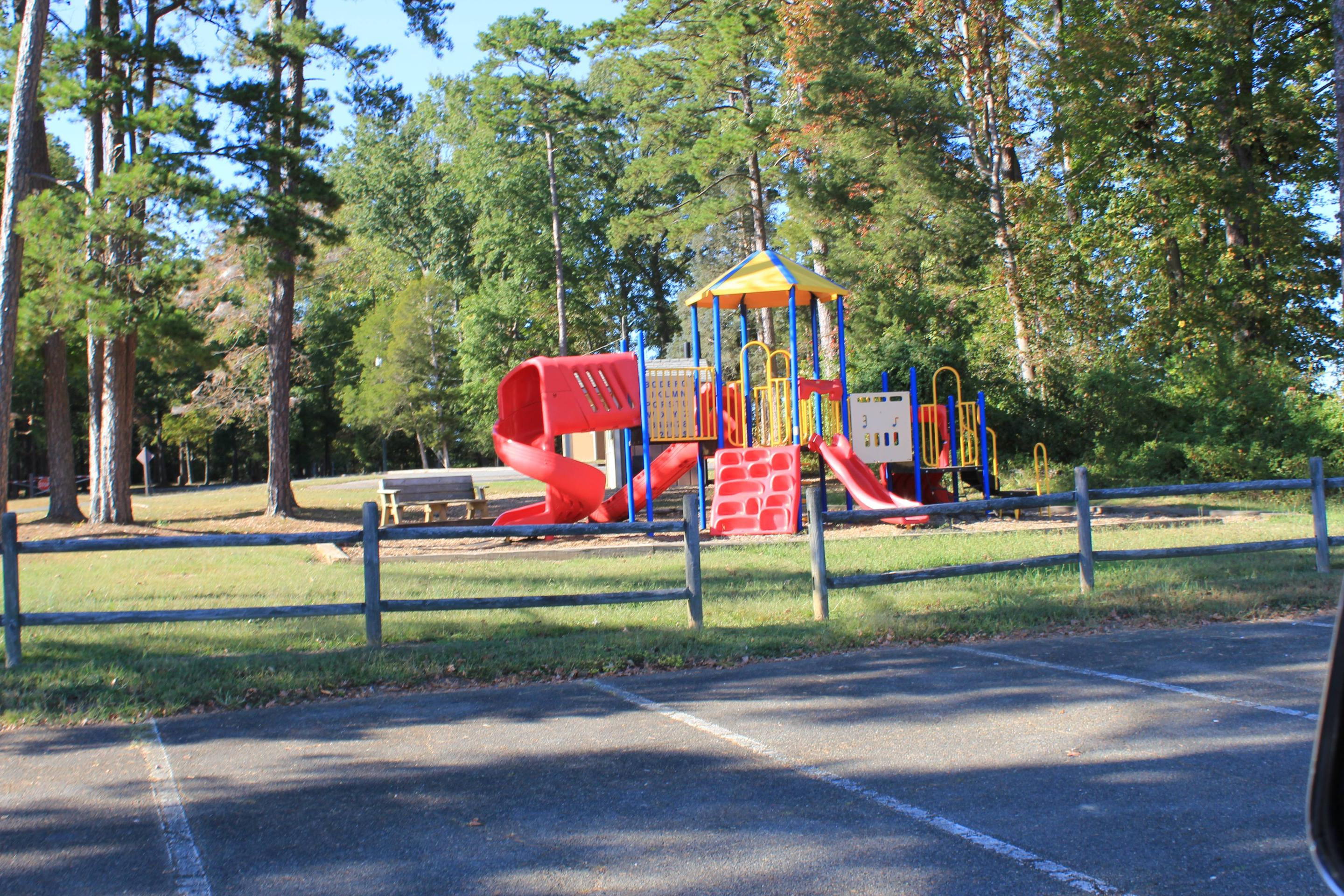 Buffalo Park PlaygroundWelcome to Buffalo Park! This is a picture of the playground here in the Day Use Area at Buffalo Park.