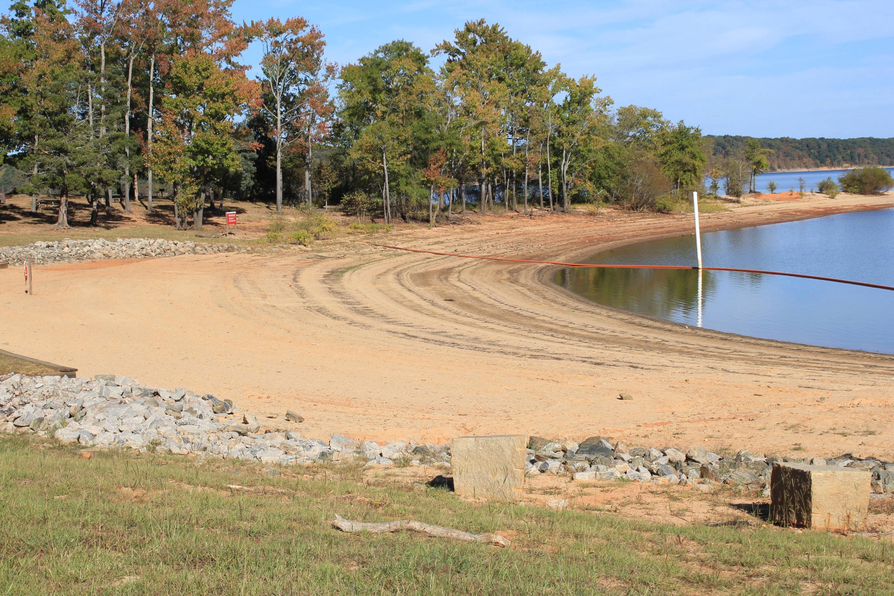 Buffalo Park Swimming AreaWelcome to Buffalo Park! This is a picture of the swimming area located in the Day Use Area here at Buffalo Park. Always remember to wear your life jacket!