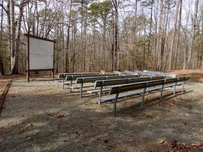 Rudds Creek AmphitheaterWelcome to Rudd's Creek Campground! This is the amphitheater located in the back loop of the campground. The amphitheater is only available to the campers due to the limited parking.