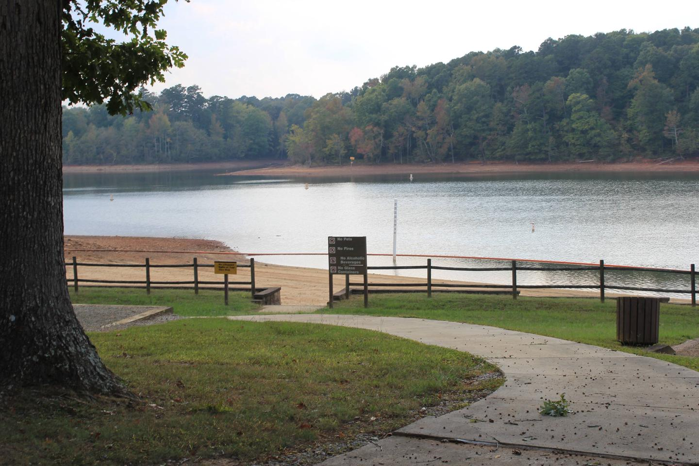 Rudd's Creek Day Use AreaWelcome to Rudd's Creek Day Use Area! The Day Use Area is located across the street from the Rudd's Creek Campground. This picture is of the swimming area located in the Day Use Area. Remember to ALWAYS WEAR A LIFEJACKET!