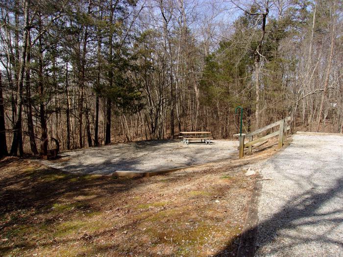 Rudds Creek 1Campsite #1