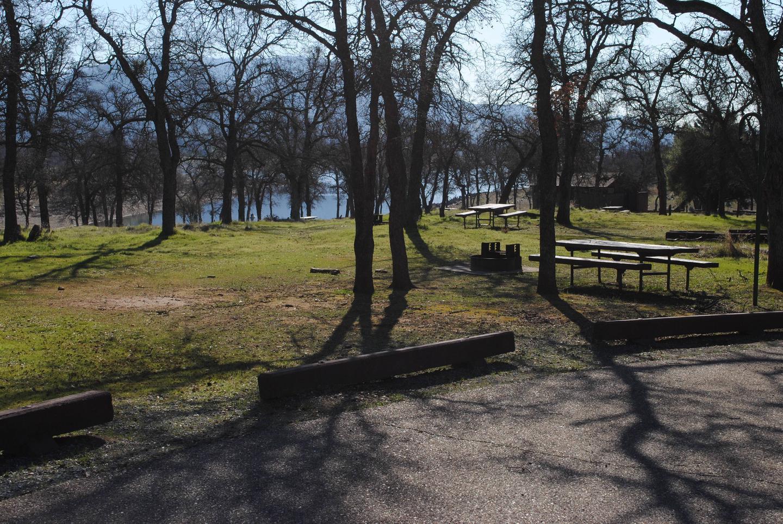 Acorn Campground Site 2 area viewPull Through